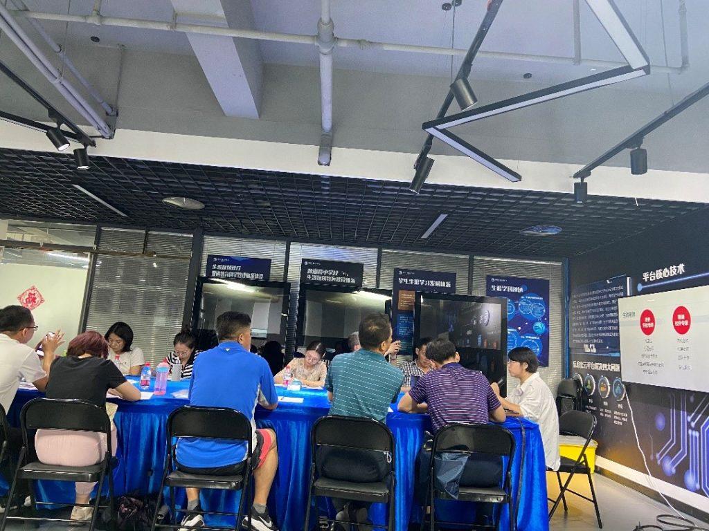 思维碰撞·共享共赢 ——宁夏长庆高级中学莅临大道之行公司参观交流插图